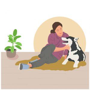 犬が震えたとき、飼い主ができること